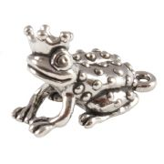 Frog Prince 3D Sterling Silver Charms